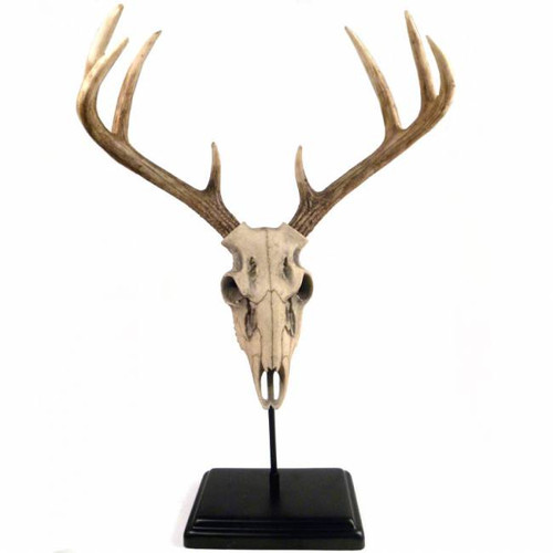 Deer Skull Sculpture