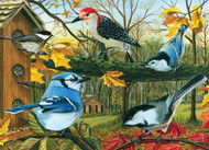 Blue Jay and Friends 1000 Piece Puzzle