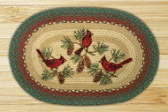 Cardinal Oval Braided Rug