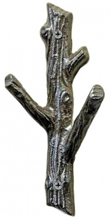Small Cast Iron Tree Branch Coat Hook