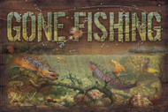 Gone Fishing Sign at American Expedition