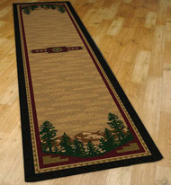 Autumn Mountains 2' by 8' Rug