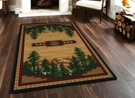 Autumn Mountains 5' by 8' Rug