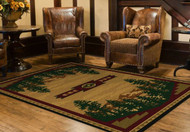 Autumn Mountains 8' by 10' Rug