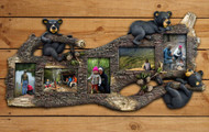 Black Bears and Pine Five Photo Frame
