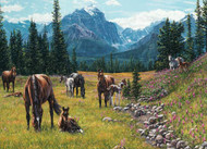 1000 Piece Horse Meadow Puzzle
