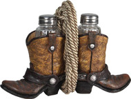 Salt & Pepper Shaker - Boots and Rope