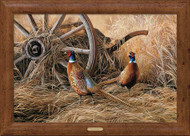 Fall Pheasants - Framed Print