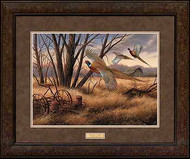 Pheasant Farms - Premium Framed Print