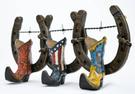 Boots and Horseshoes Wall Hooks