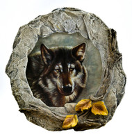 Wolf and Rocks Nightlight
