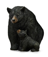 Black Bear with Cub Sculpted Nightlight