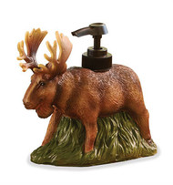 Bull moose soap dispenser