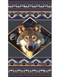"Wolf Ridge 34"" x 64"" Oversized Beach Towel"