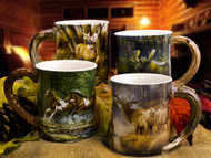 Sculpted Mug Set (Choose 4)