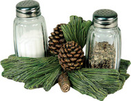 Pinecone Salt and Pepper Shaker Set
