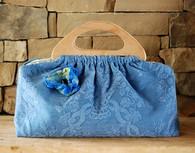 Sabine Classic Knitting Bag - Wedgewood