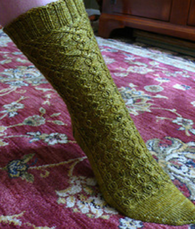 French Quarter Sock by Knitspot