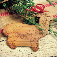 Retromantic Fripperies Gauge - Santa Alpaca