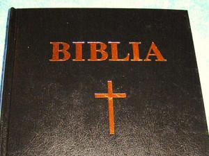 Romanian Bible Black Hardcover / Biblia Sau Sganta Scriptura A Vechiului Si Noului Testament