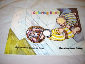 The Miraculous Change / Ang Lalaking Binago ni Jesus / coloring book / paperback