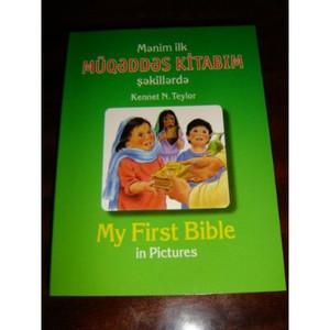 Azeri English Children's My First Bible in Pictures / Children's New Testament