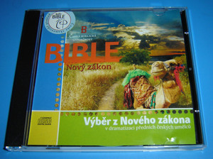 Czech Audio New Testament Selections 27 Chapters / Audio CD / Novy Zakon / Vy...