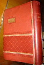 The Holy Bible in Urdu / Leather Bound Golden Edges / Revised Version 2008