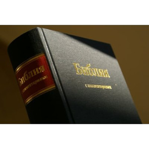 Russian Study Bible 070DC-2004 series (Hardcover (black cloth)