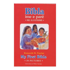 My First Bible in pictures - Albanian - English Children's Bible / Bibla ime ...