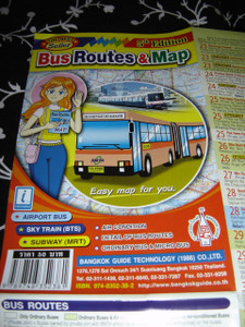 Bus Routes & Map of Thailand / English Map / Airport Bus, Skytrain (BTS), Sub...