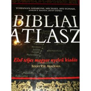 Bibliai Atlasz 210 oldal terkepekkel es magyarazatokkal / Hungarian version of Carta's Atlas of the Bible (Hardcover) by Yohanan Aharoni
