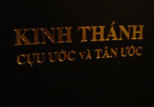Kinh Thanh Cuu Uoc va Tan Uoc / Vietnamese Bible / Large 53V Formant Re-typeset 1999