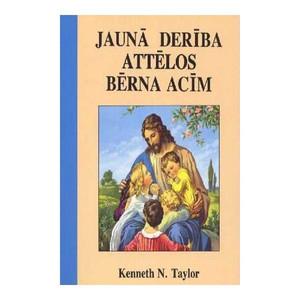 Latvian Children's Bible for Little Eyes / Illustrated Bible Stories for Younger Children