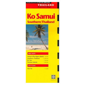 Koh Samui, Thailand Travel Map (updated) [Folded Map] by Periplus Editors