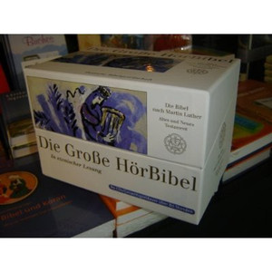 German Audio Bible on 80 Audio Cd's / Die Grosse Horbiblel / Die Bible nach Martin Luther