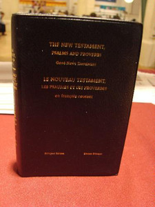 English-French New Testament, Psalms and Proverbs