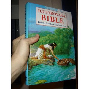 Czech Children's Illustrated Beautiful Big Bible