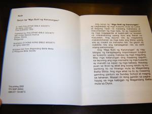 """Ruth / Filipino Bible Story Book for Children / Serye ng """"Mga Butil ng Karunu..."""