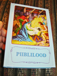 Estonian Children's Bible / PIIBLILOOD / Full Color - Grat for Children from Estonia