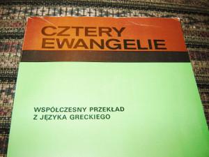 The Four Gospels in Polish with illustrations / Cztery Ewangelie Wspolczesny przeklad z jezyka greckiego / USED LIKE NEW