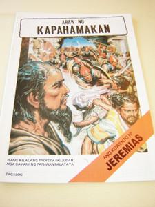 JEREMIAH the Prophet / TAGALOG Language Children's comicstrip Bible book