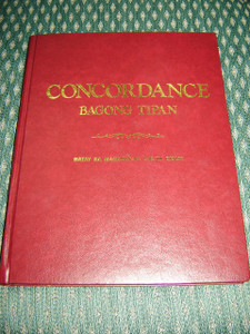 Tagalog Bible Concordance of the New Testament / Burgundy Hardcover