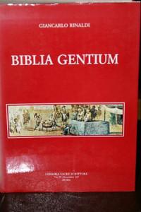 Biblia Gentium: Primo contributo per un indice delle citazioni, dei riferimen...