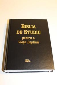 Biblia De Studiu Pentru o Viata Deplina - Noul Testament [Unknown Binding]