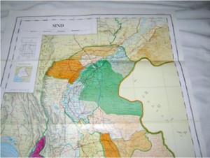 Sind Province Map Pakistan / Scale 1:1,000,000 [Map] by Pakistan Survey