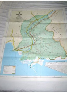 Road Map of Sindh Pakistan / 1:800,000 [Map] by Survey of Pakistan