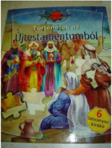 Hungarian Bible Stories from the New Testament PUZZLE Book / Tortenetek az Uj...