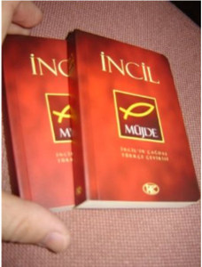 Turkish Pocket New Testament - New Translation - INJIL -M??jde [Paperback]