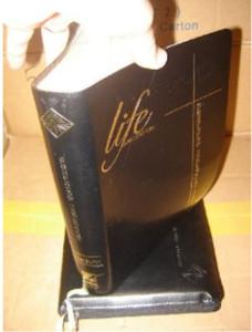 Thai Application Study Bible - Old Testament / Black Leather / Golden Edges /...